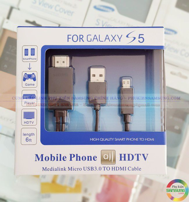 Cable  HDMI dài 2m Samsung Galaxy S5