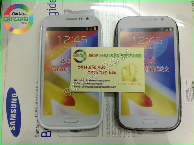 Ốp lưng Silicon Galaxy Grand Duos i9082