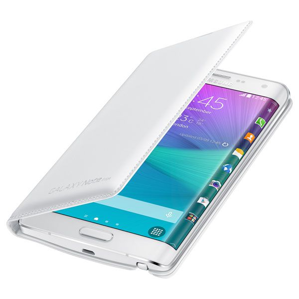 Bao da Galaxy Note Edge Flip Wallet - White