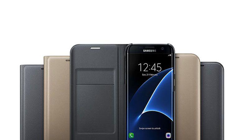 Bao da Flip Wallet Galaxy S7 Edge chính hãng
