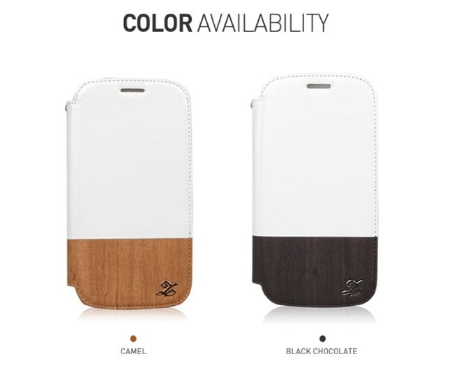 Bao da Galaxy S3 Oak Wood Block Diary Collection