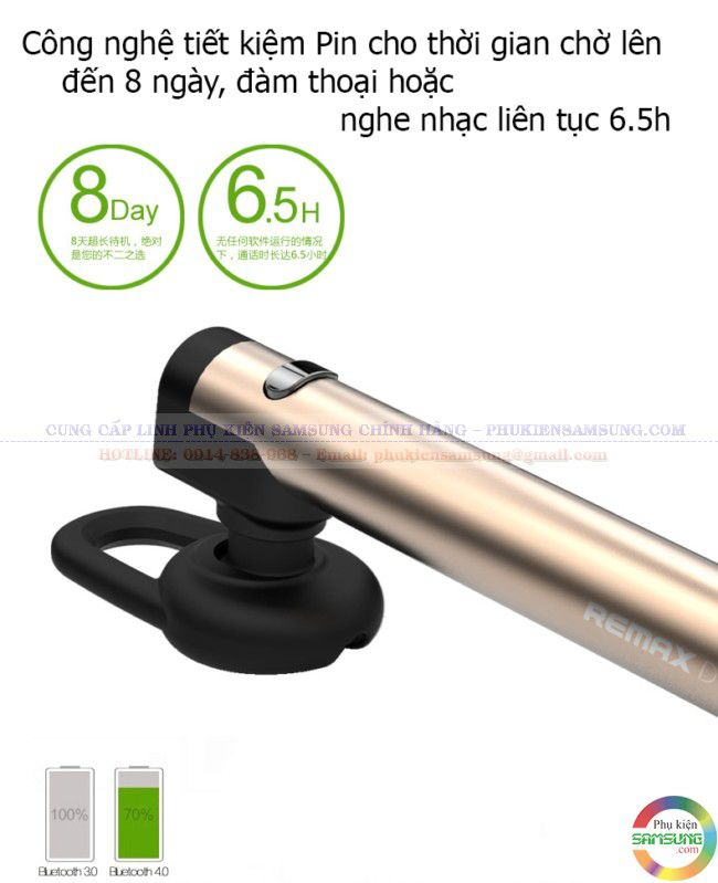 Tai nghe Remax Bluetooth RB-T1