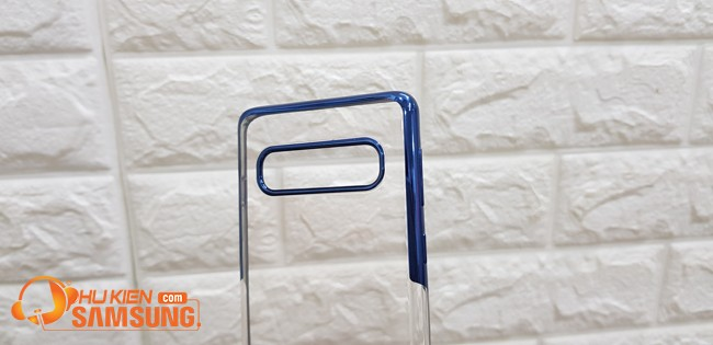 ốp lưng silicon Samsung S10 viền màu hiệu Baseus hcm