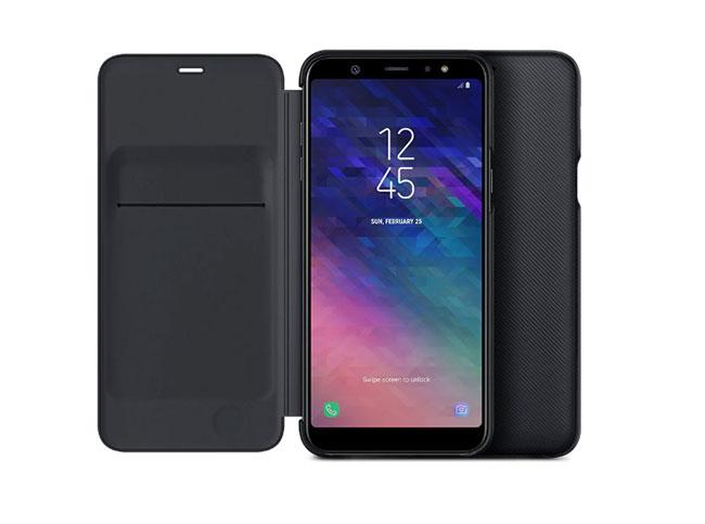 giá Bao da Wallet Cover Galaxy A6 Plus 2018
