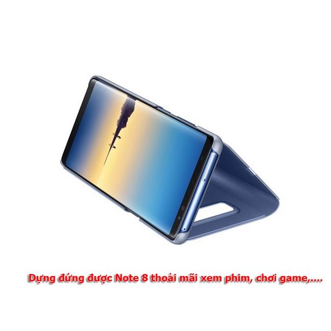 Bao da Clear View Standing Galaxy Note 8