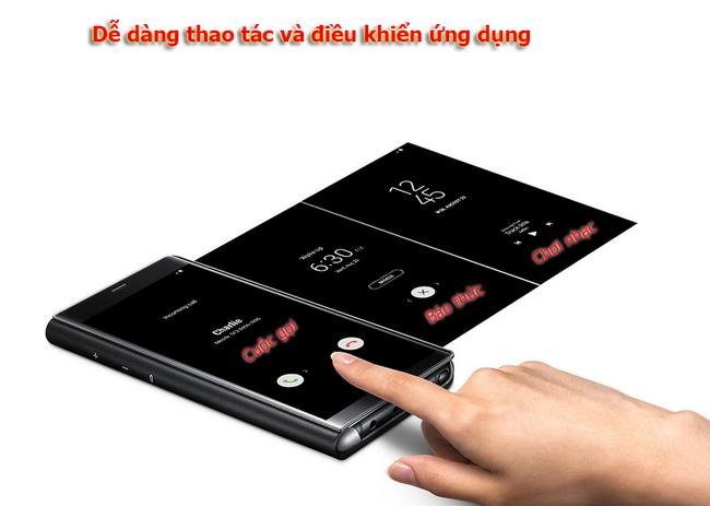 Bao da Clear View Standing Galaxy Note 8 chính hãng