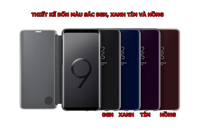 Bao da Clear View Standing Galaxy S9 Plus chính hãng Samsung