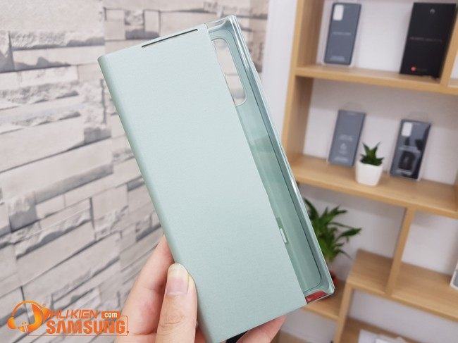 bao da Clear view Galaxy Note 20 chính hãng