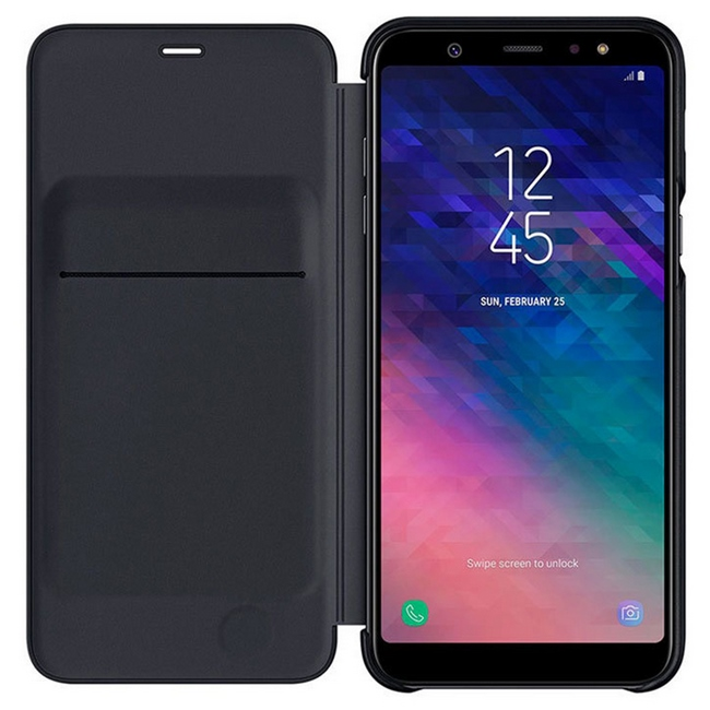 Bao da Galaxy A6 Plus chính hãng Samsung