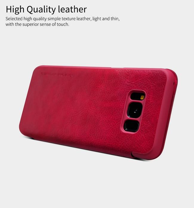 Bao da Galaxy S8 Plus hiệu Nillkin Qin