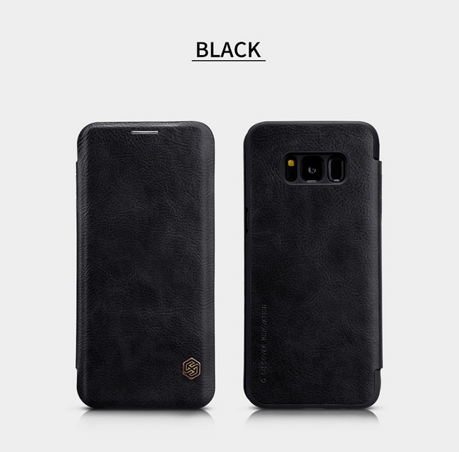 Bao da Nillkin Qin cho Galaxy S8 Plus
