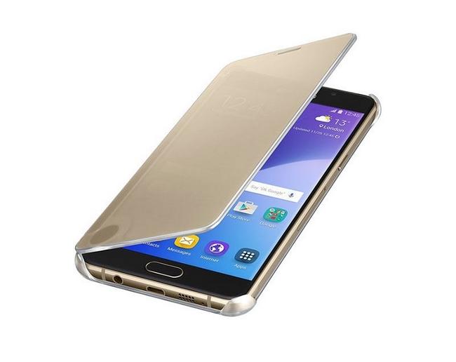 quality design 1a25f c8ed7 Bao da Clear View Cover Samsung Galaxy A9 chính hãng