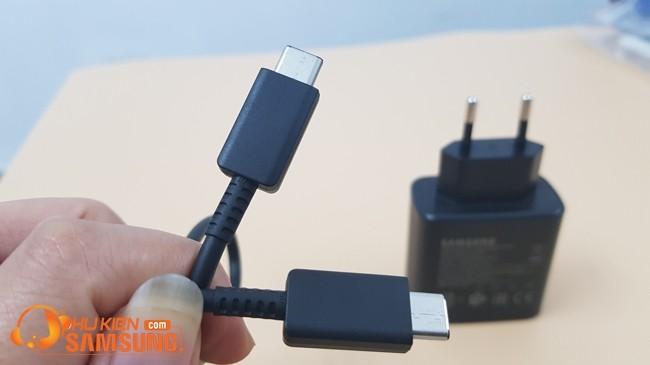 giá bộ cáp sạc nhanh Note 10 plus 5G chính hãng rẻ tại Hà Nội