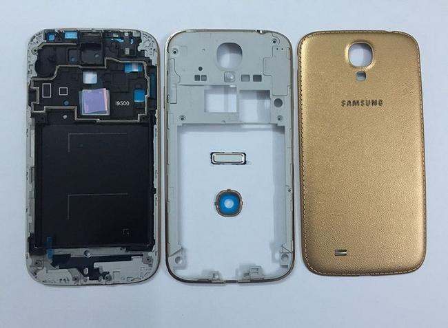 Độ vỏ Gold cho Samsung Galaxy S4 i9500 chính hãng