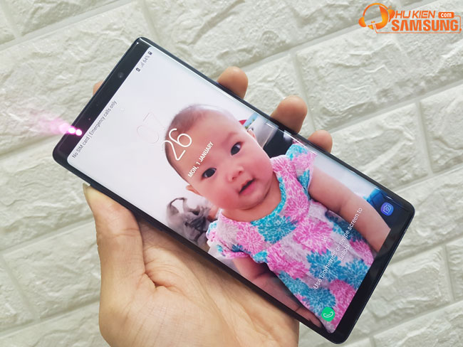 ép mặt kính samsung Note 9 chính hãng Samsung