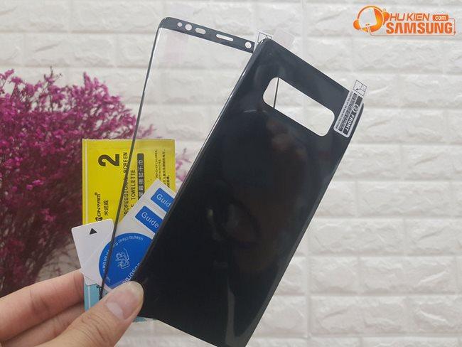Dán Film 3D cường lực dẻo full màn hình Samsung Galaxy Note 8