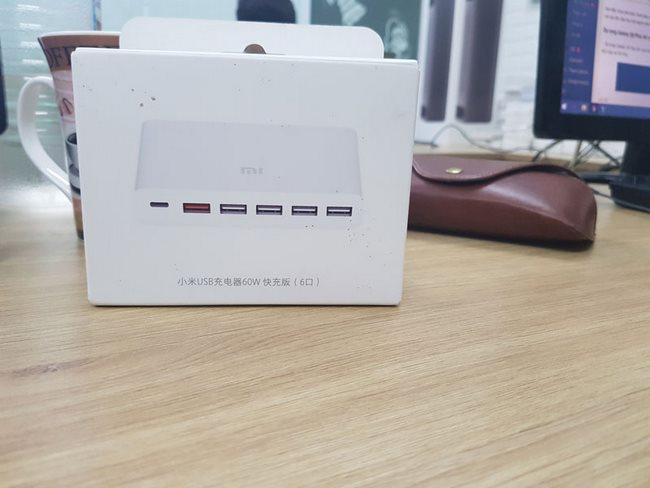 Bộ sạc nhanh Xiaomi 6 cổng USB