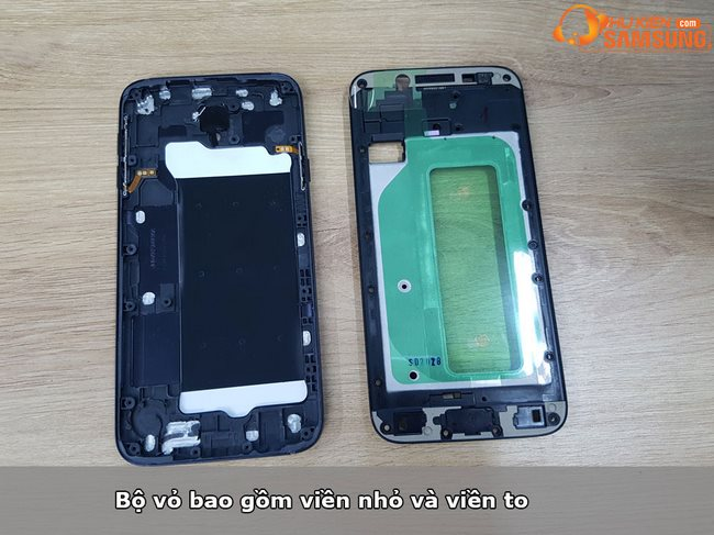 Thay bộ vỏ Galaxy J7 Pro chính hãng Samsung