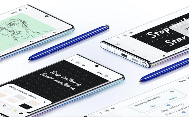 chức năng Bút S Pen Galaxy Note 10 chính hãng
