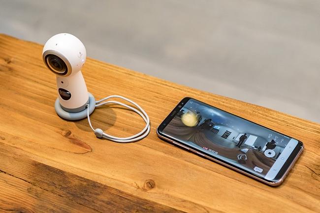 Camera Samsung Gear 360 chính hãng