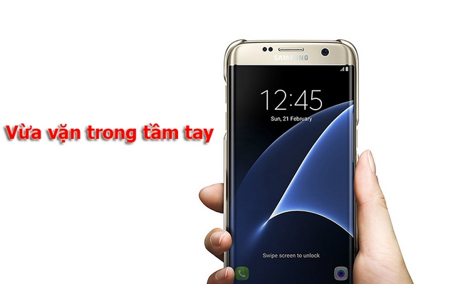 Ốp lưng Galaxy S7 Edge Clear Cover