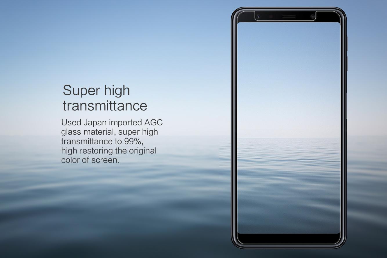 kính cường lực Samsung A7 2018 hiệu Nillkin