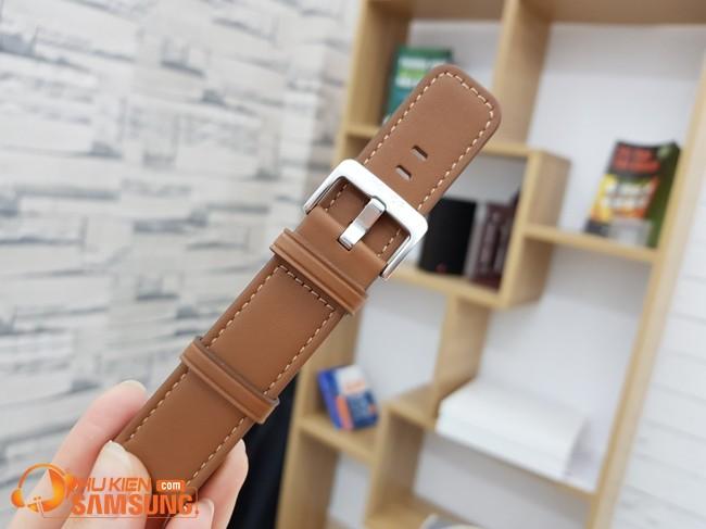 dây đồng hồ da 22mm da honor chính hãng