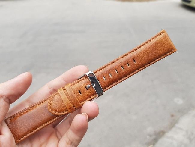 Bộ 2 dây da đồng hồ Samsung Gear S3