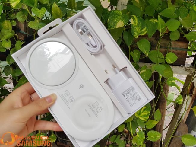 sạc đôi không dây Samsung Note 10 giá