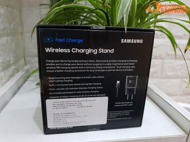 Bộ sạc nhanh không dây dạng đứng Galaxy S9 Plus 2018 chính hãng