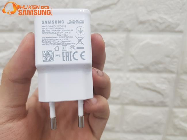 bộ cáp sạc nhanh Samsung S10 plus chính hãng tphcm, hà nội