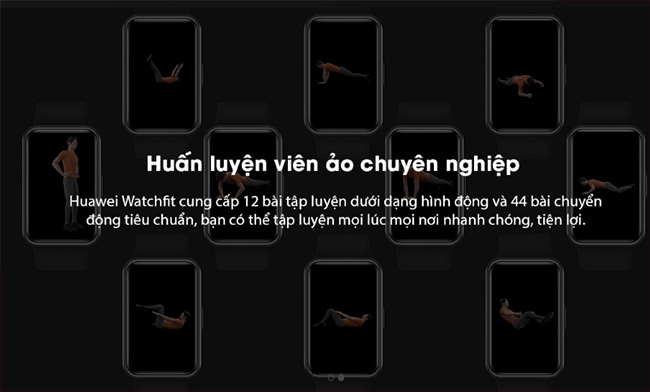 hồ thông minh Huawei Watch Fit