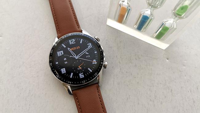 Trên tay đồng hồ thông mình Huawei watch GT 2 chính hãng