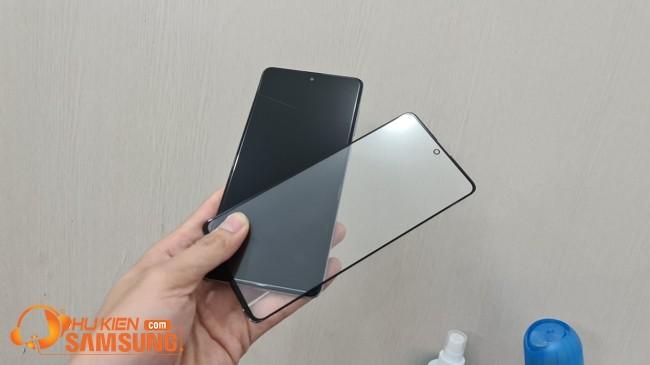 ép kính Samsung A71 giá bao nhiêu