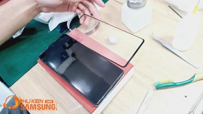 ép kính Samsung A71 giá bao nhiêu Hà Nội