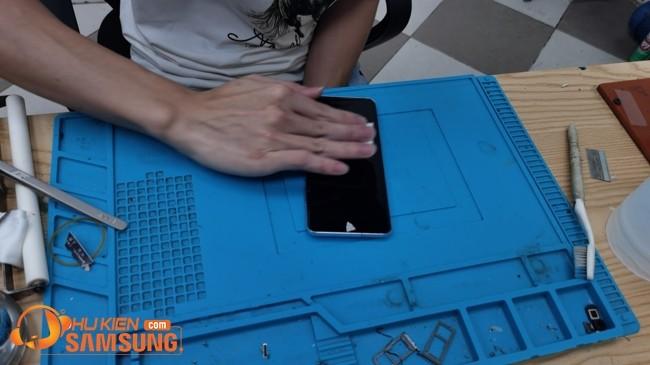 ép kính mà n hình Samsung Note 10 Plus