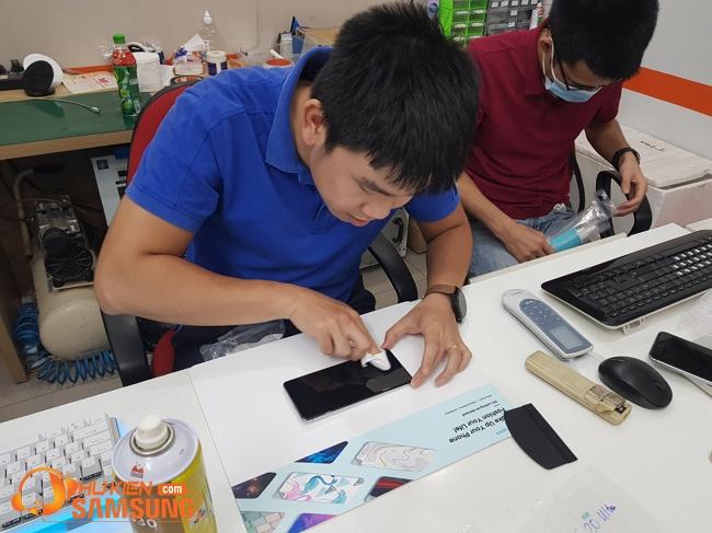 ép kính màn hình Samsung Note 20 Ultra chính hãng