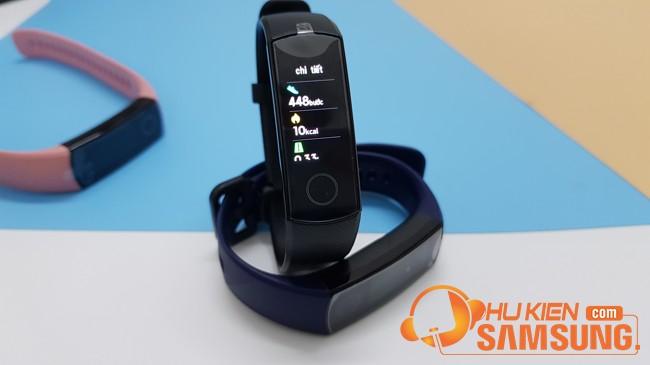 đánh giá chi tiết vòng đeo tay Huawei Honor band 5 chính hãng