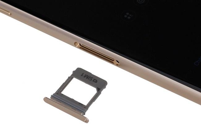 Bộ khay sim và thẻ nhớ Galaxy A8 Plus chính hãng