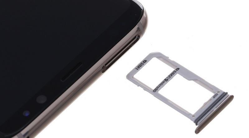 Khay sim Galaxy S8 Plus chính hãng