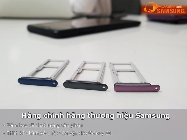 Khay sim và thẻ nhớ Galaxy S9