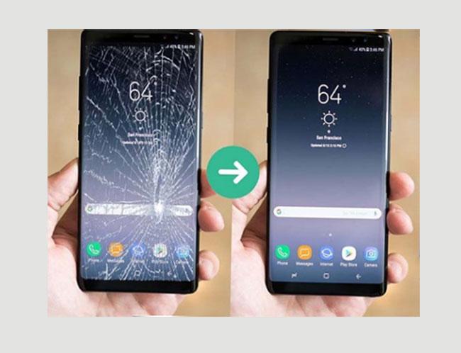Ép kính Galaxy S8 Plus chính hãng tại Thái Hà