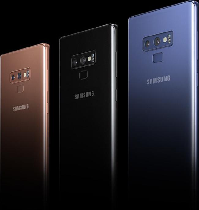 Kính camera sau Galaxy Note 9