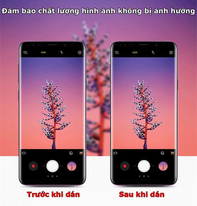 Kính cường lực camera sau Galaxy S9 Plus hiệu Basues
