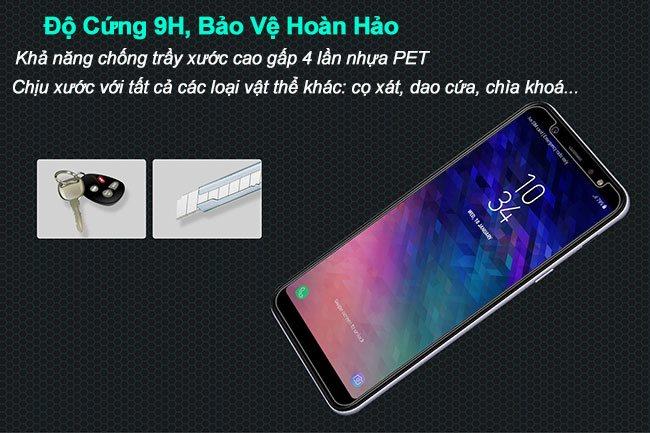 Kính cường lực Samsung A6 Plus Nillkin độ cứng 9H