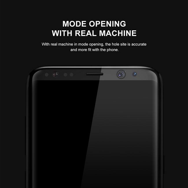 Kính cường lực Galaxy S8 hiệu Baseus full màn hình