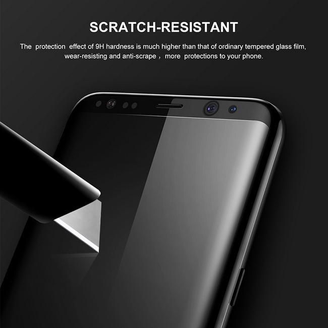 Kính cường lực màu Samsung S8 Plus hiệu Baseus