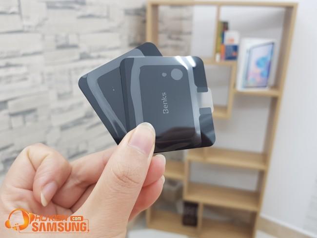 Dán kính cường lực camera S20 Ultra Benks