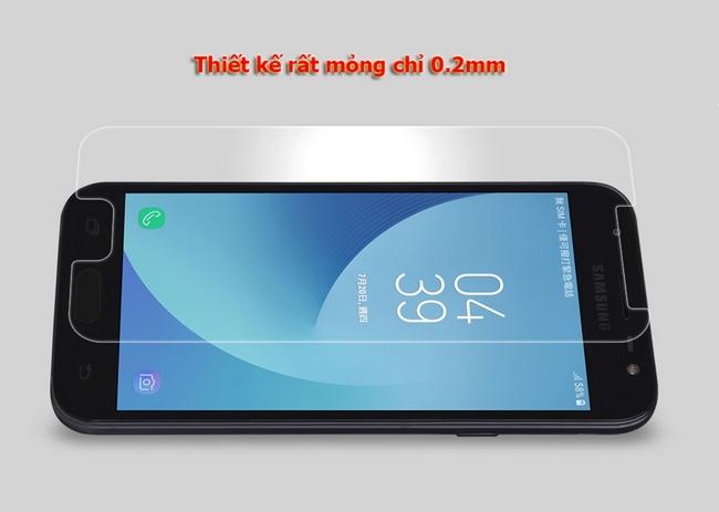 Kính cường lực Galaxy J3 Pro 2017 H+ Pro hiệu Nillkin