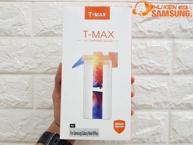 kính cường lực Note 10 Plus UV hiệu T-Max